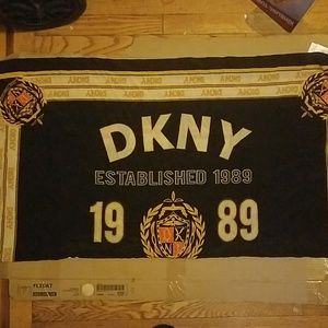 DKNY silk emblem est. 1989 scarf